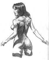 Boris Vallejo sketch study