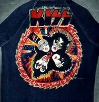KISS jacket acrylic